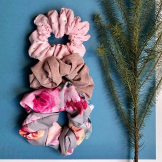 Flower Power Scrunchies Combo Lielieboo
