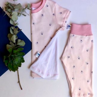 Peach Blossom Pyjama Set Lieleboo