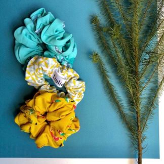 Bloom Where You're Planted Scrunchies Combo Lielieboo